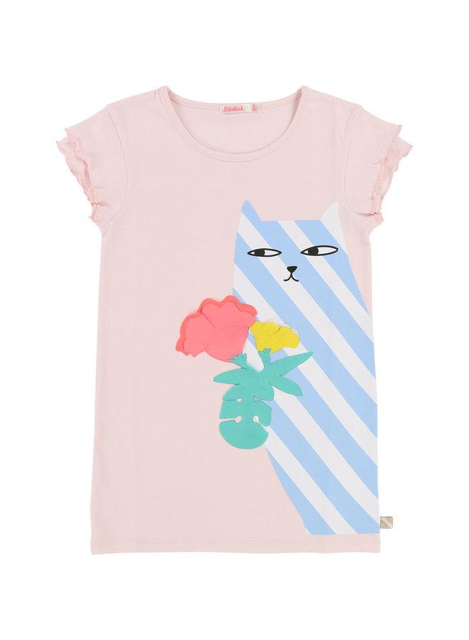 Billieblush Kleid Katze Shirtkleid