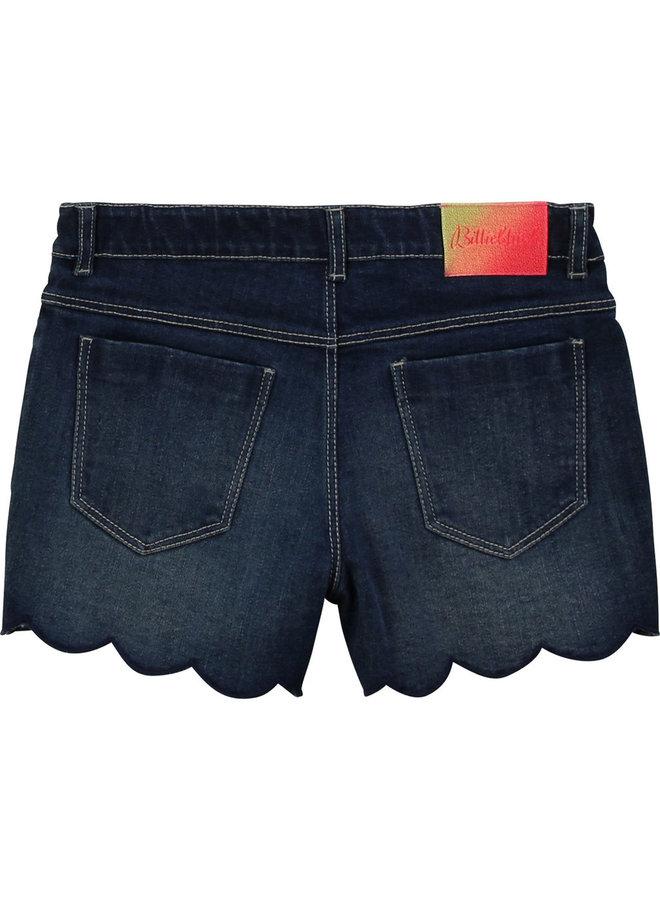 Billieblush Stretch Jeans Shorts mit Muschel Applikation