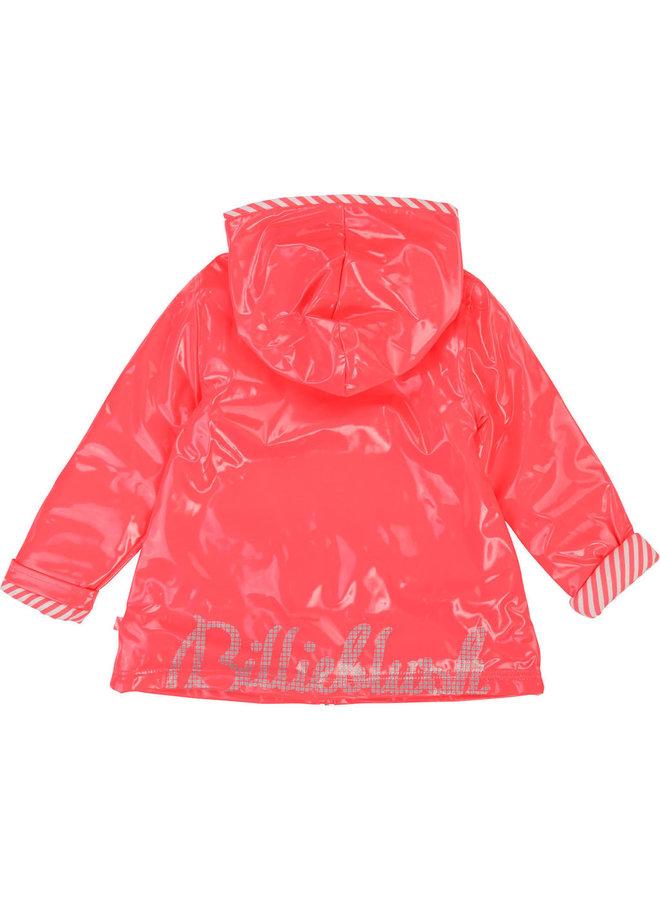 Billieblush Regenmantel pink rosa Glitzer