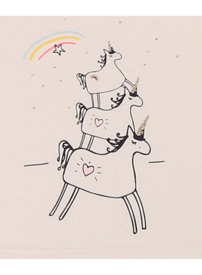 Billieblush Baby Longsleeve Einhörner und Regenbogen