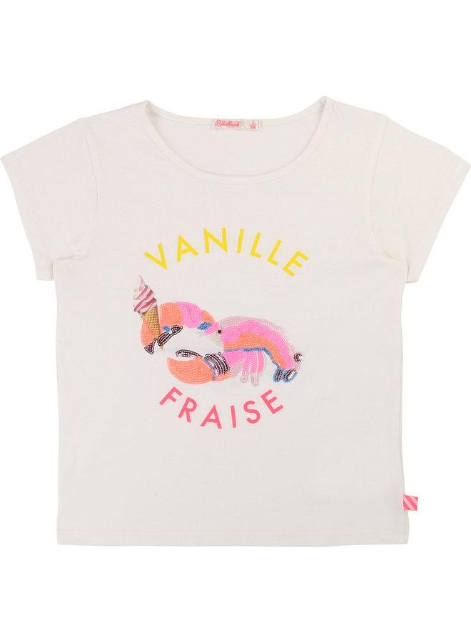 Billieblush T-Shirt Krabbe