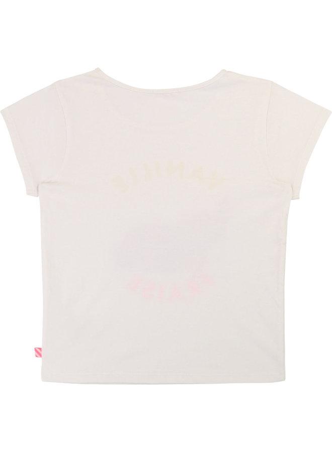 Billieblush T-Shirt Krabbe offwhite