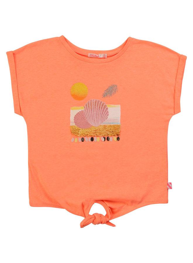Billieblush T-Shirt Muscheln