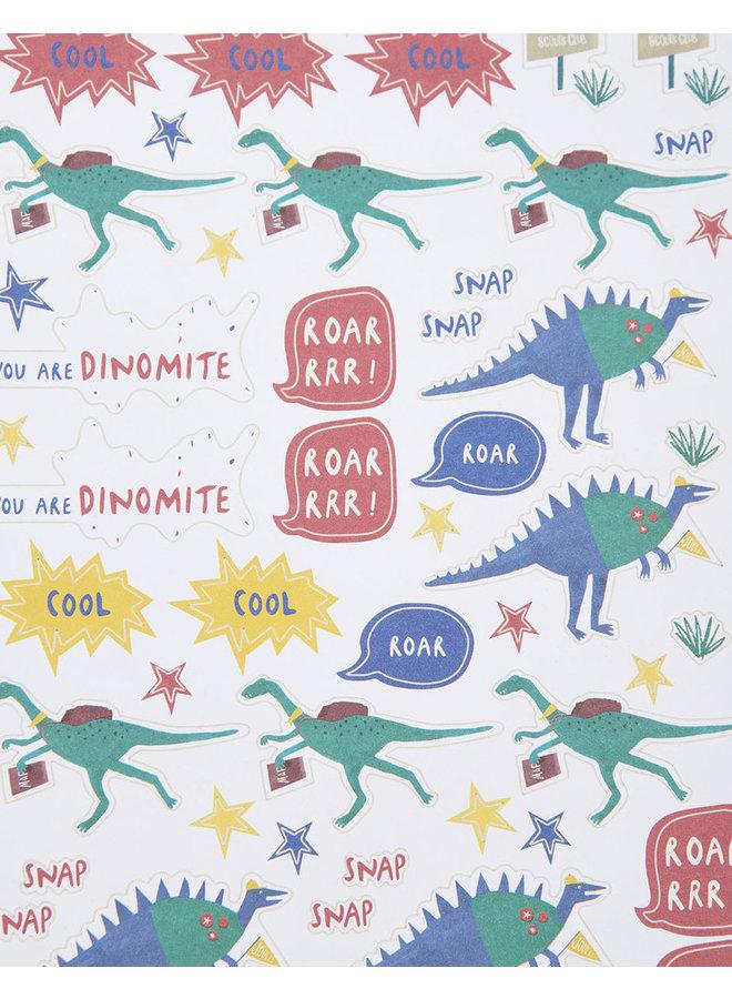TOM JOULE Kinder Schreibset Dino Print