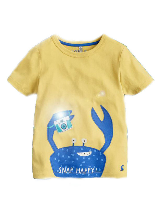 TOM JOULE T-Shirt Snap Happy