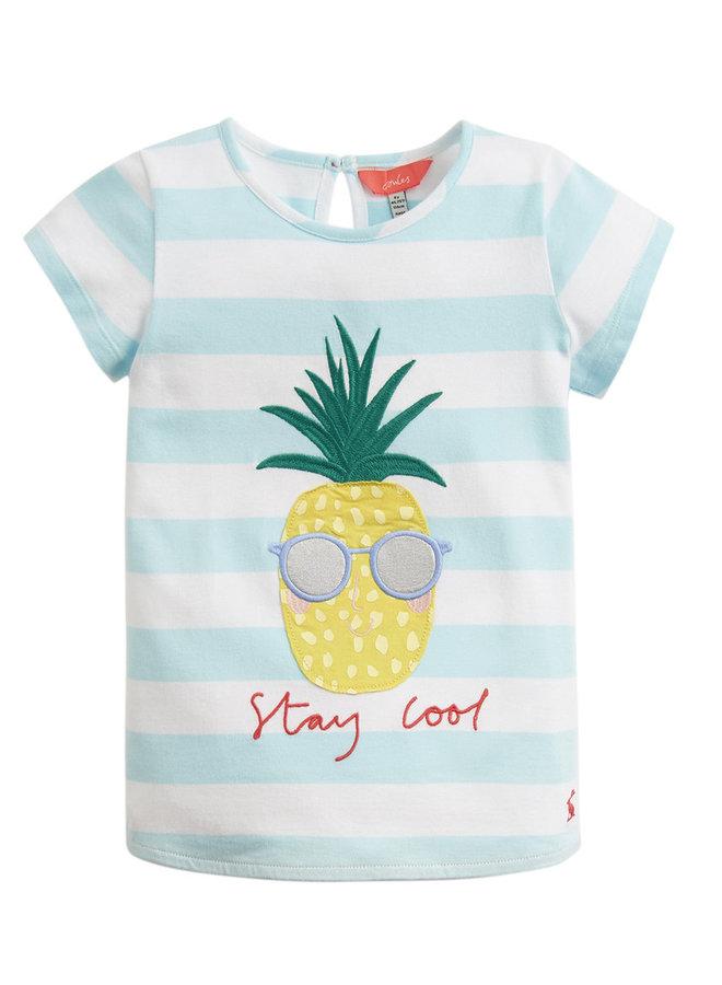 TOM JOULE T-Shirt Ananas aqua