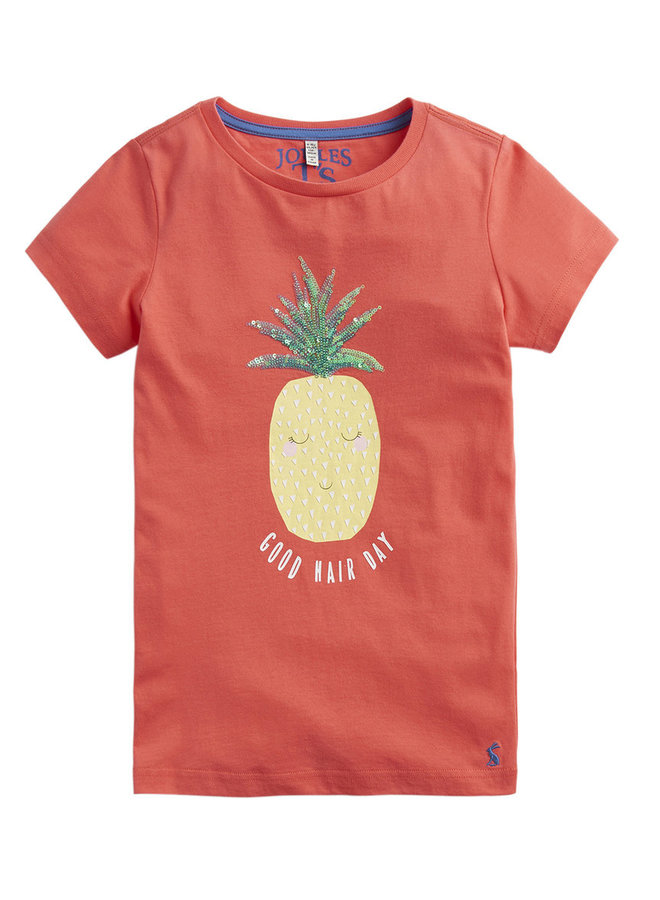 TOM JOULE T-Shirt Astra Ananas