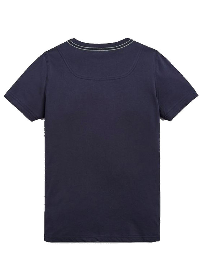 TOM JOULE T-Shirt Quallen blau
