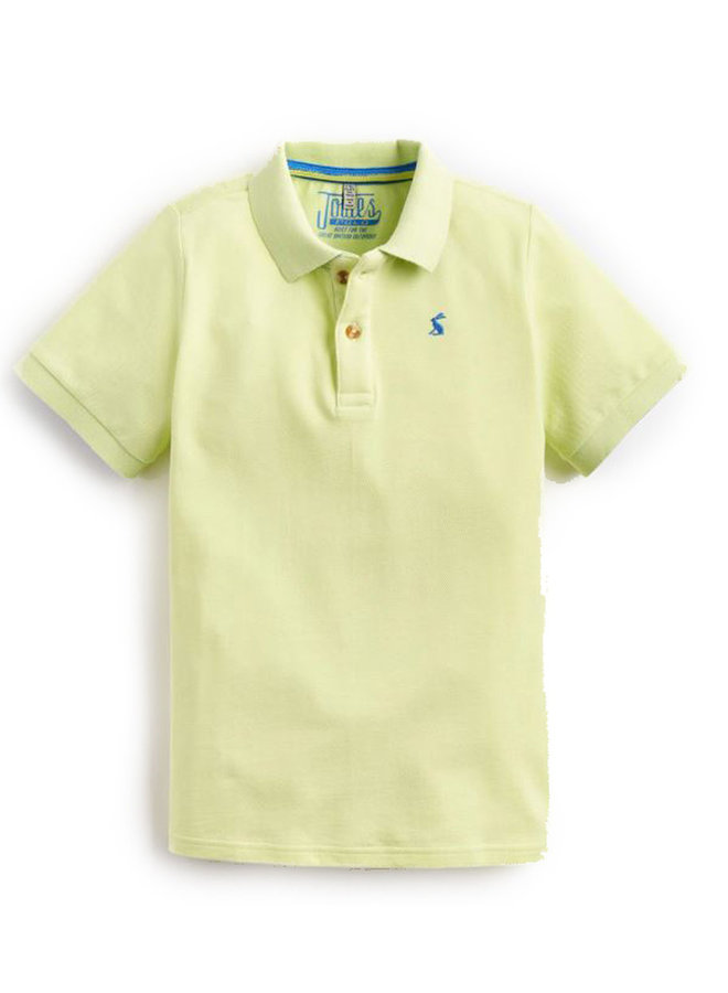 TOM JOULE Poloshirt lime mit Logostitching