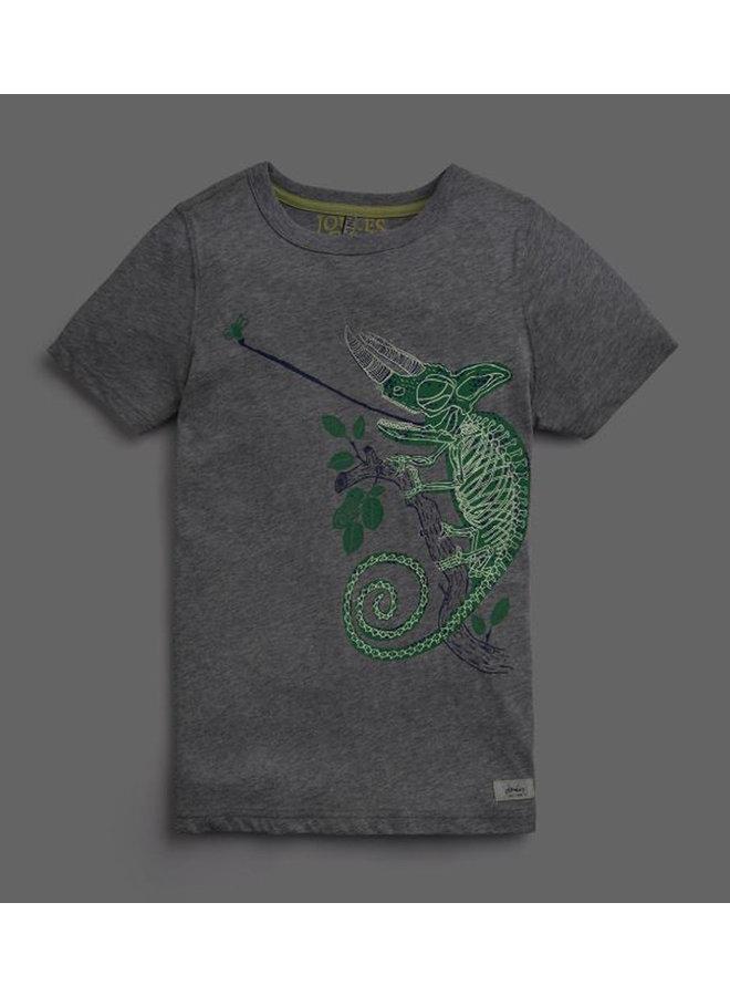 TOM JOULE T-Shirt Chamäleon leuchtet im Dunkeln