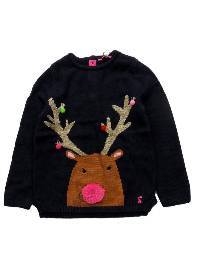 TOM JOULE Strickpullover Weihnachten