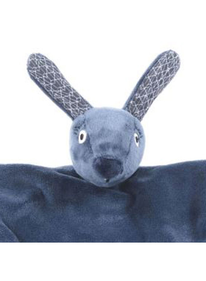 Smallstuff Kuscheltuch hase blau