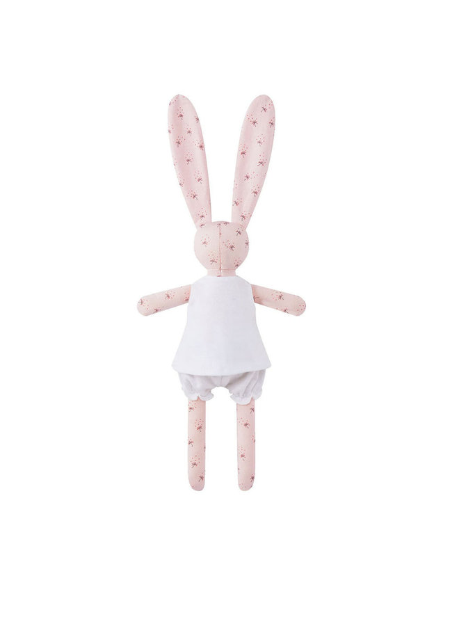 Petit Bateau Kuscheltier Hase mit Kleidung