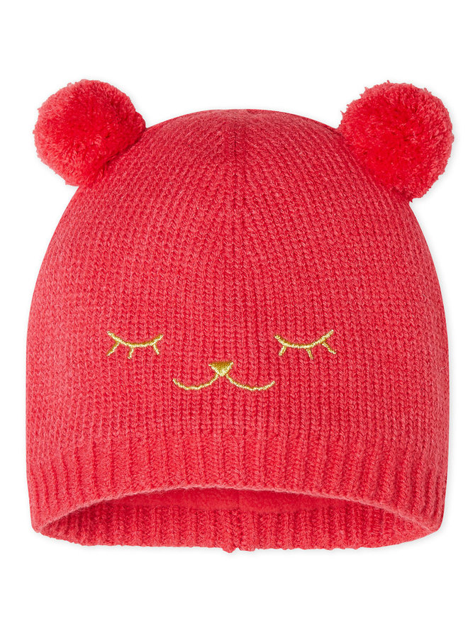Petit Bateau Mütze rot