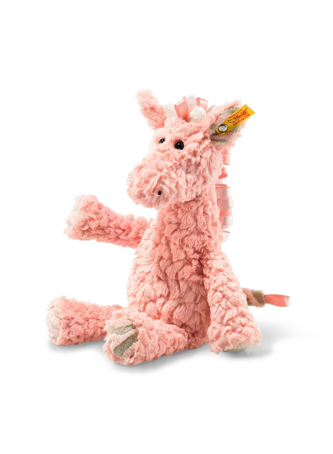 Steiff Soft Cuddly Friend Giraffe Giselle 30cm rosa