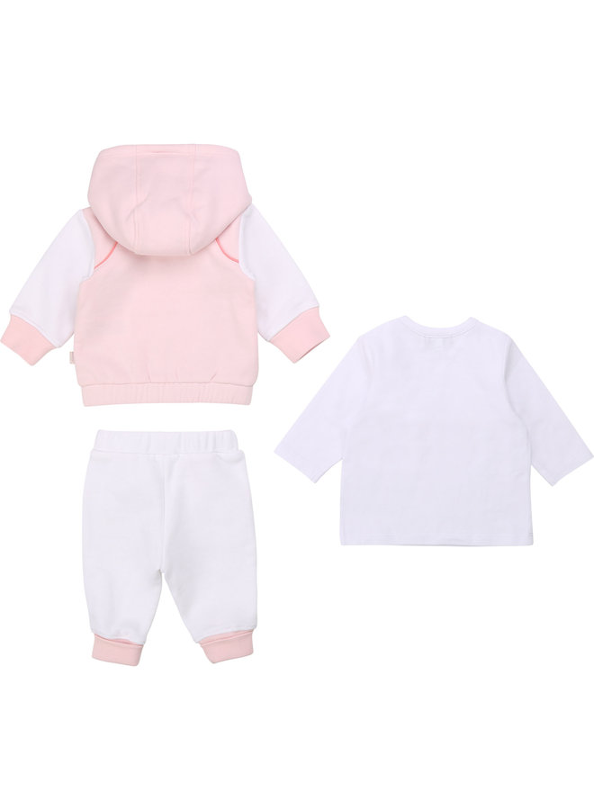 BOSS Baby Kombination Hose, T-Shirt und Cardigan