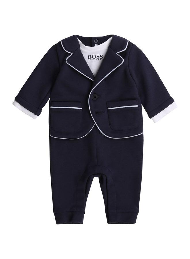 BOSS Baby Milano Anzug drei in Eins Overall blau