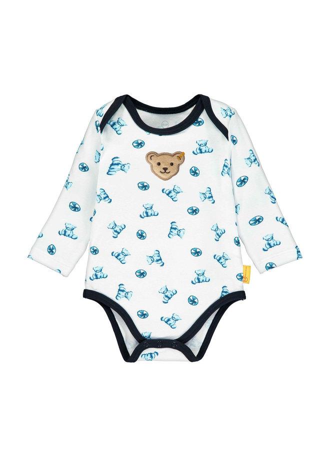 Steiff Baby Langarmbody Teddys