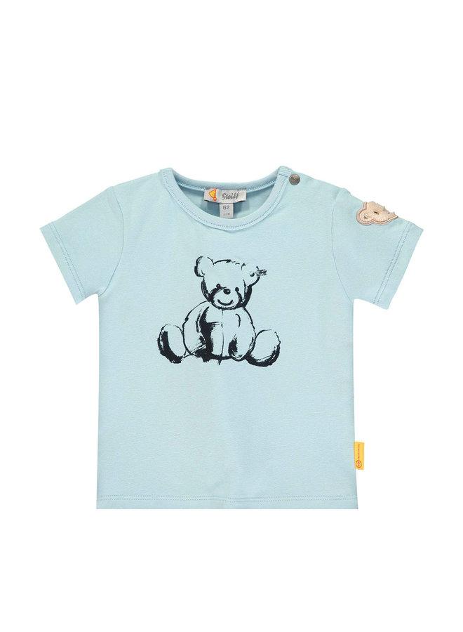 Steiff Baby T-Shirt hellblau