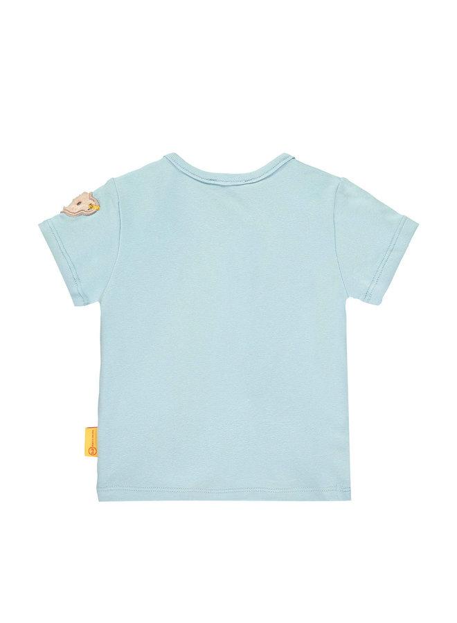 Steiff Baby T-Shirt hellblau Teddy