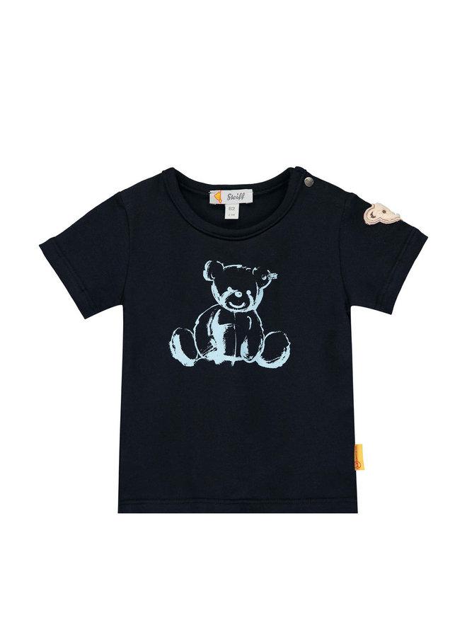 Steiff Baby T-Shirt navy