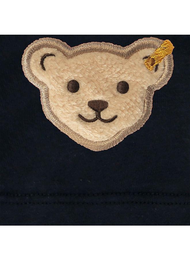 Steiff Baby T-Shirt navy Teddy
