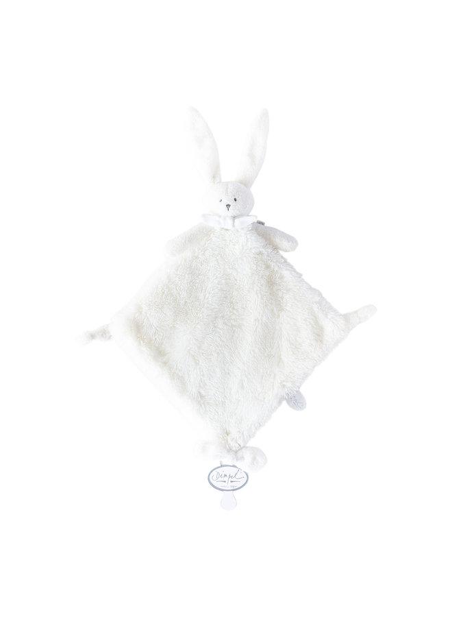 Dimpel Kuschelhase / Schmusetuch  Doudou ELLA 35 cm weiß