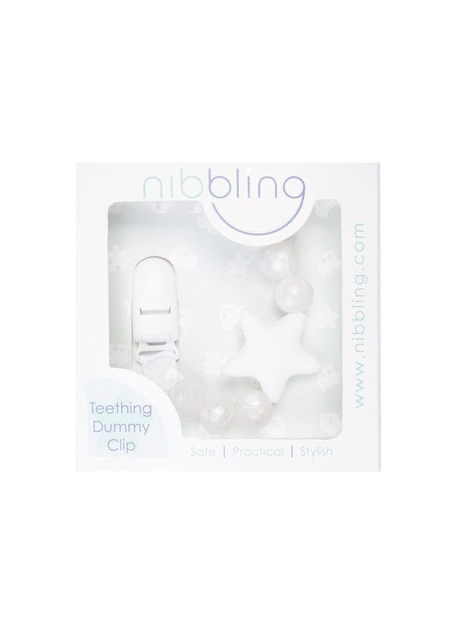 NIBBLING Schnullerkette Stellar pearl