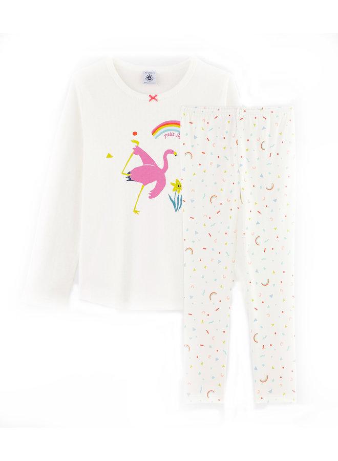 Petit Bateau Pyjama Flamingo