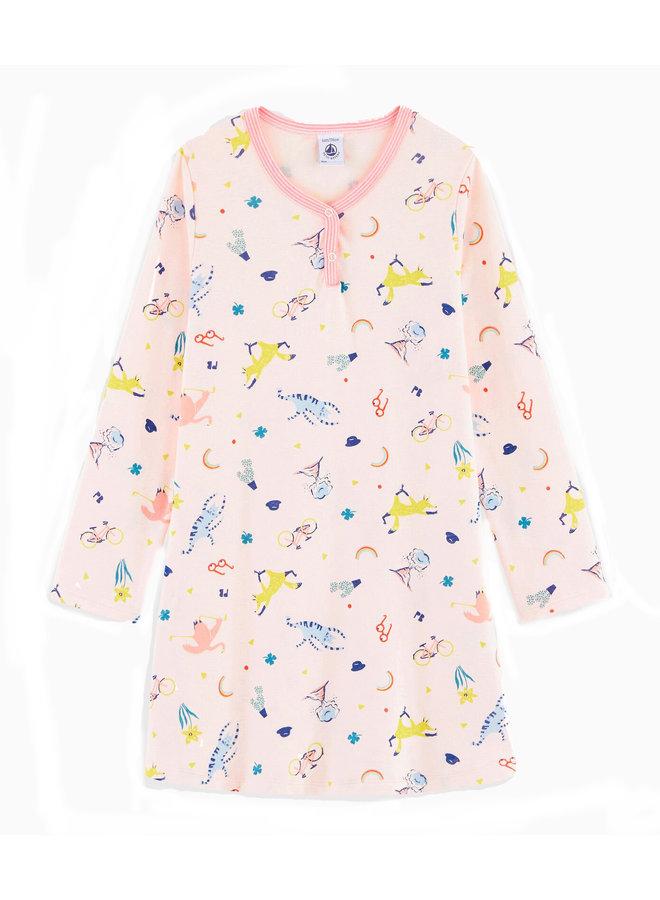 Petit Bateau Nachthemd  langarm
