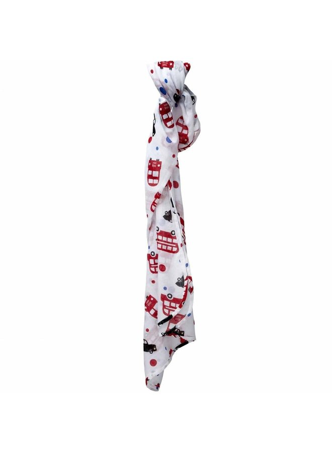 PICCALILLY Pucktuch London Bus Swaddle