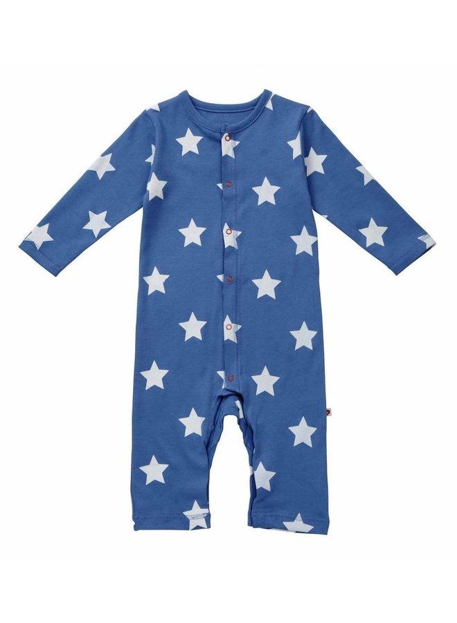 Piccalillly Bodysuit Sterne hellblau