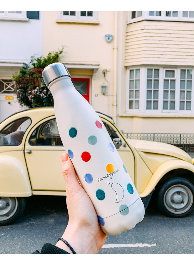Chilly's Trinkflasche Polka Dot 500ml
