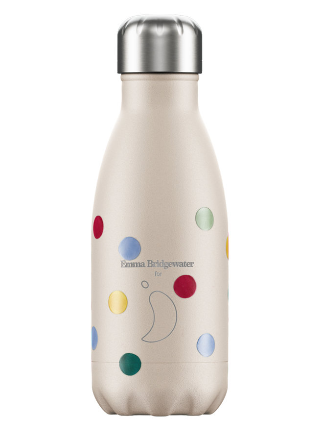 Chilly's Trinkflasche Polka Dots 260ml