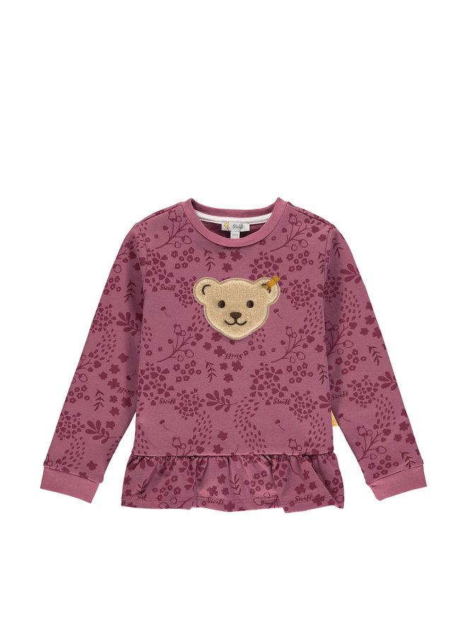 Steiff Sweatshirt Quietscher beere