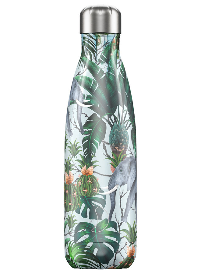 Chilly's Trinkflasche 500ml Tropical Edition Elephant