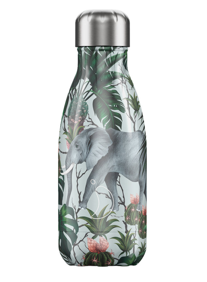 Chilly's Trinkflasche 260ml Tropical Edition Elephant - Copy