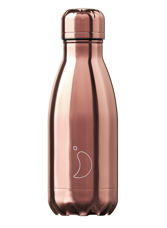 Chilly's Trinkflasche Chrome Rosegold 260ml