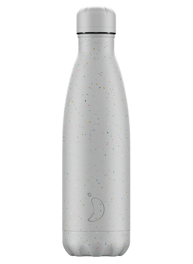 Chilly's Trinkflasche Spreckle - Cool Grey 500ml