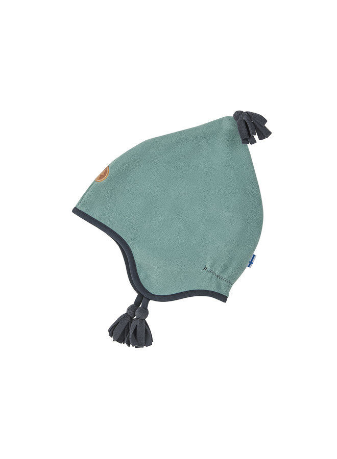 Finkid Zipfelmütze Pipo grün grau