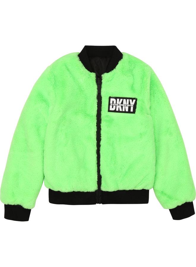 DKNY KIDS Jacke neon grün