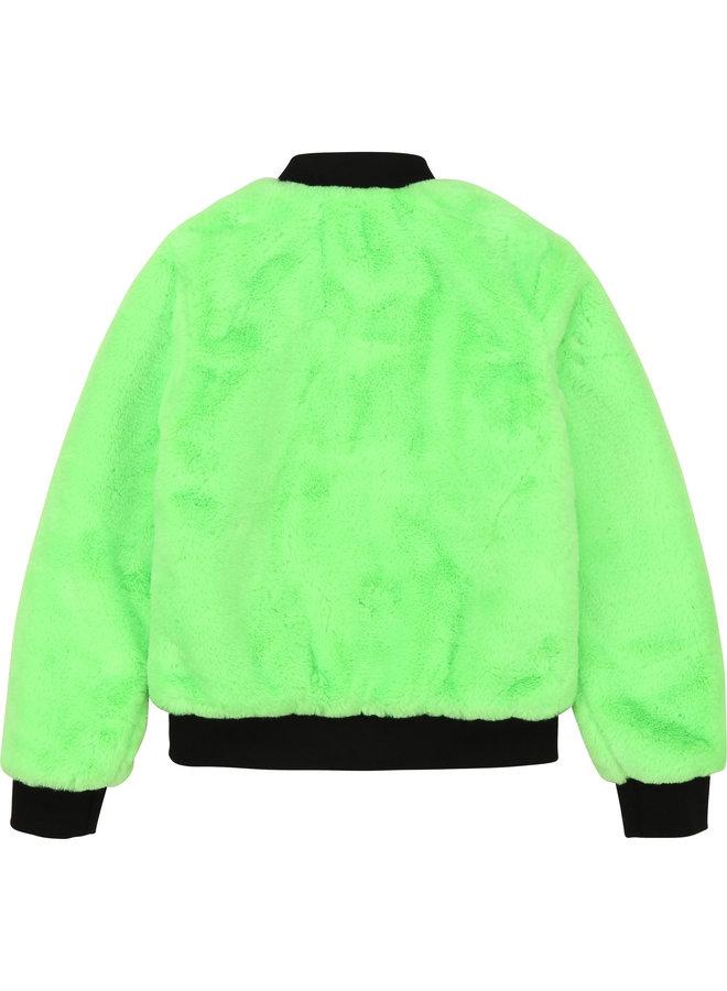 DKNY KIDS Jacke Wendejacke neon grün