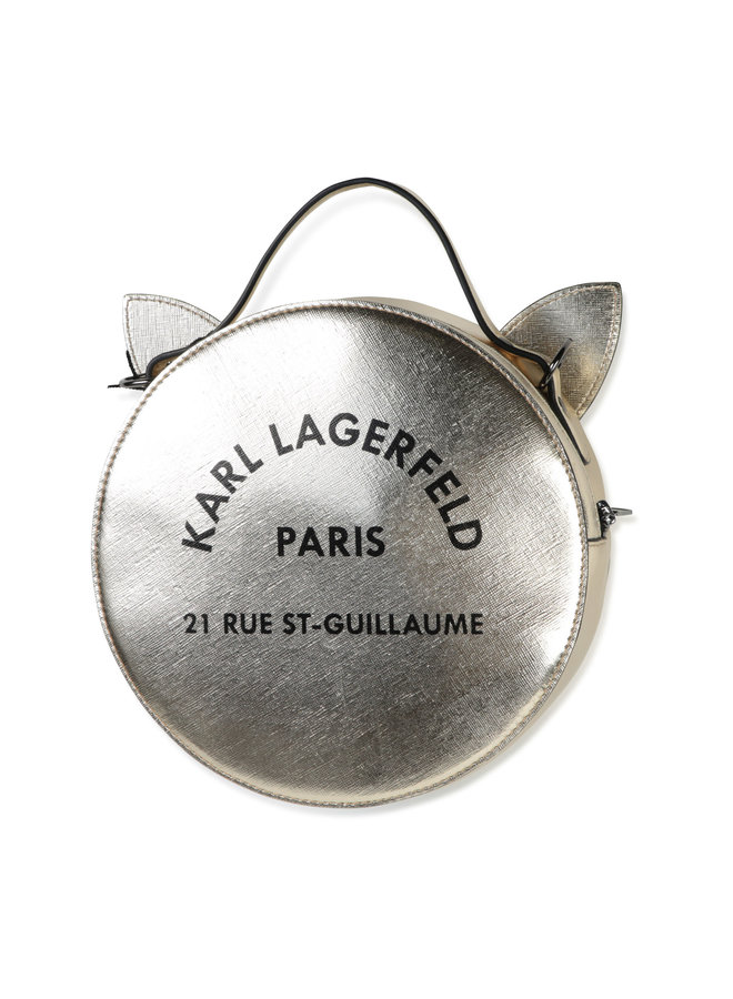 KARL LAGERFELD KIDS Tasche Choupette gold Katze