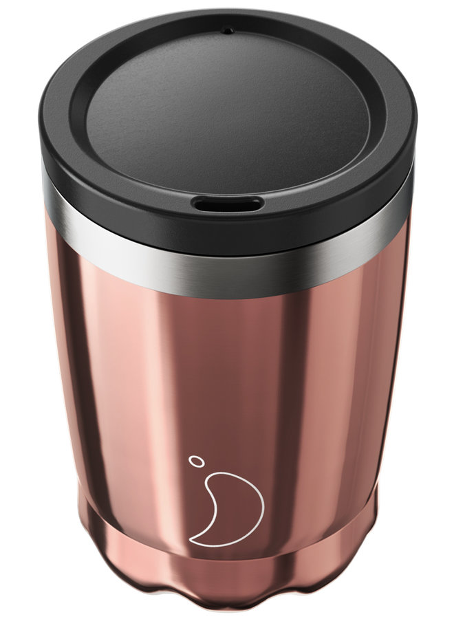 Chilly's Kaffeebecher Rose Gold 340ml
