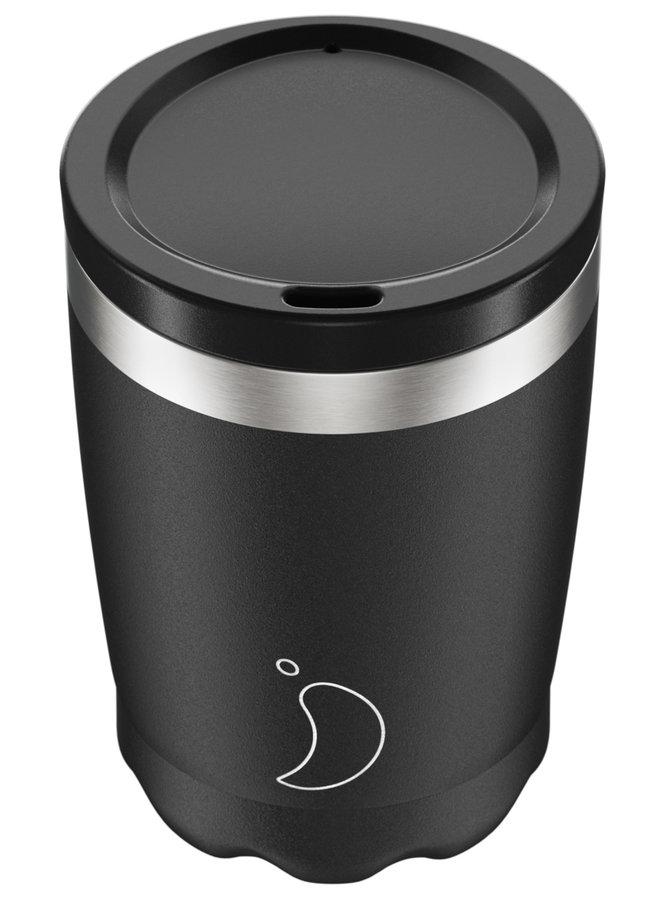 Chilly's Kaffeebecher Monochrome Black 340ml