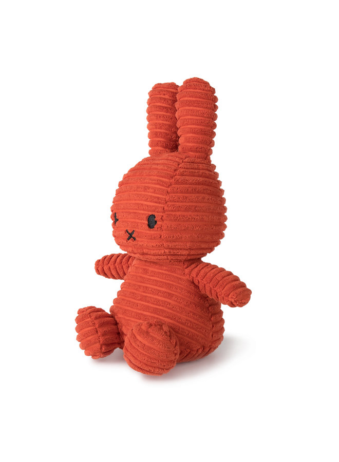 Miffy aus Cord sitzend Farbe terra orange 23 cm