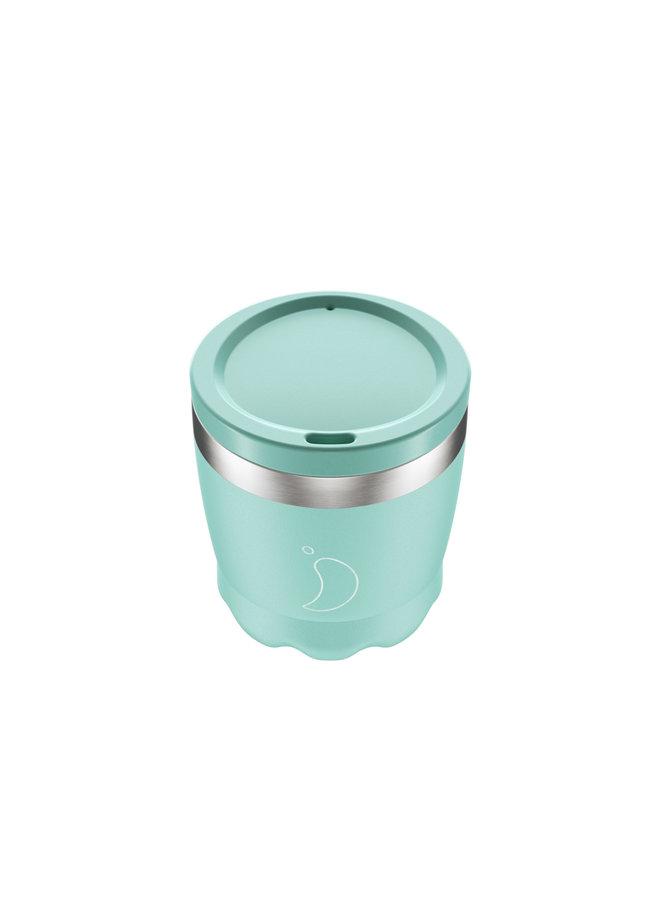 Chilly's Kaffeebecher wiederverwendbar 260ml Pastell -Edition Grün