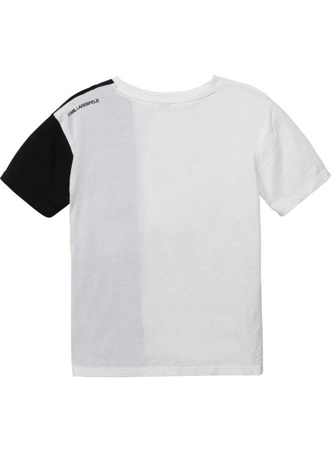 KARL LAGERFELD KIDS T-Shirt weiß iconic