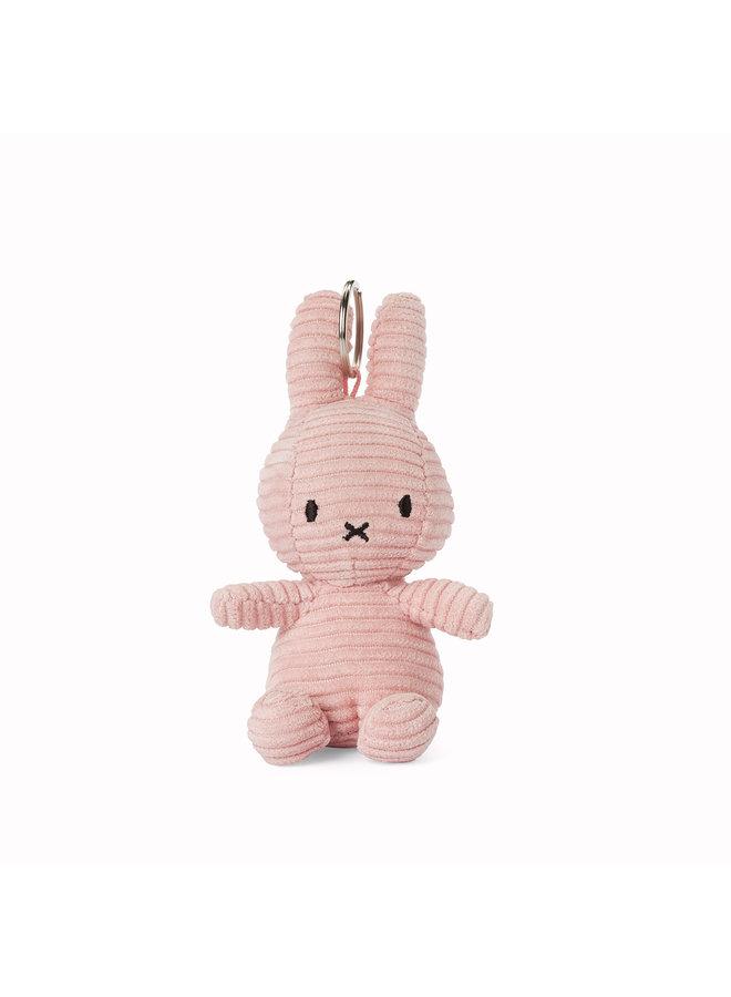 Miffy aus Cord Schlüsselanhänger keychain rosa 10cm