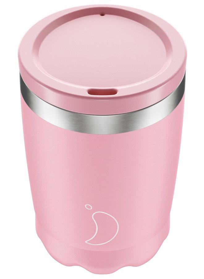 Chilly's Kaffeebecher wiederverwendbar 340ml Blush Edition Rosa Pink